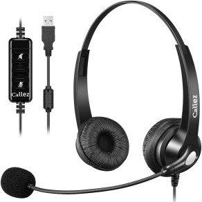 Auriculares USB PC con Micrófono CALLEZ