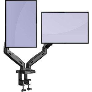 Soporte Monitor Doble PC Brazo Invision