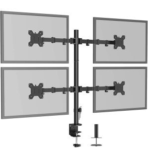 Soporte Monitor para 4 Monitores BONTEC