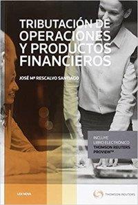 Tributación de operaciones y productos financieros